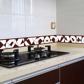 3D Floral Wallpaper Border DIY Self-adhesive Waterproof Wall Borders Living Room Kitchen Bathroom Home Decor Wall Stickers Decal недорого