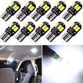 10x Автомобильный светодиодный светильник T10 W5W 2825 для Peugeot 208 207 308 RCZ 408 407 307 206 для Citroen C4 C5 C3 C2 C4L Xsara
