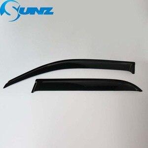 Image 3 - Черный цвет, вид сбоку дефлекторы дефлектор двери козырек для Toyota 4runner 2016 2017 2018 используются в качестве покрытия для Обтекатели SUNZ