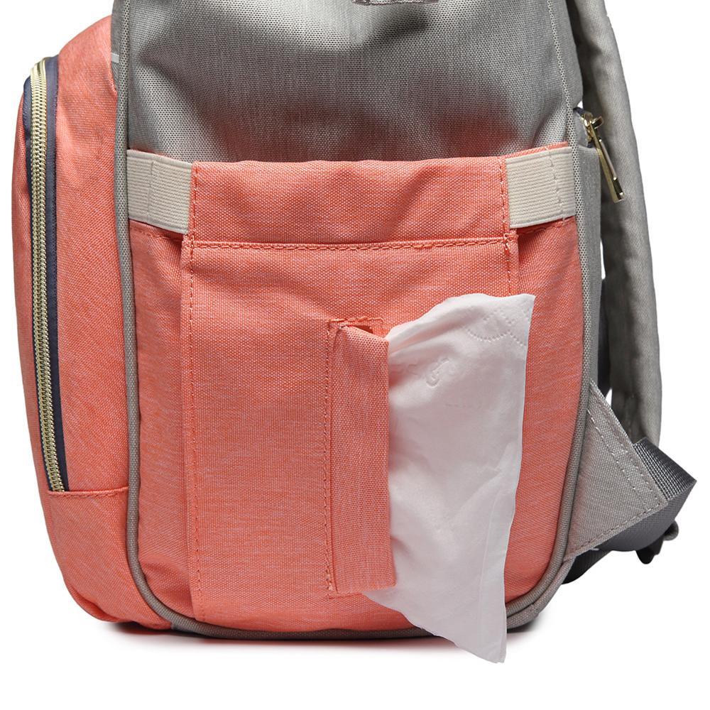 Diaper Bag Large Capacity Mummy Maternity Bag Multifunctional Wet Bag Backpack Baby Care Mom Washable Diaper Bags Cloth Bags