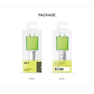 Image 5 - Kpop Nct Mini Light Stick Sleutelhanger Lamp Hanger Opknoping Fluorescerende Stok Groene Hamer Sleutelhanger Officiële Perifere K Pop nct