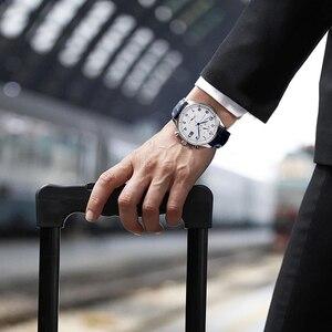Image 3 - Youpin TwentySeventeen אור עסקי קוורץ שעון באיכות גבוהה אלגנטיות 2 צבעים עם משלוח נירוסטה חגורה