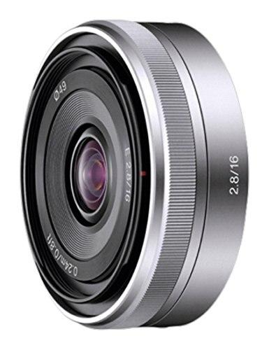 Б/у, широкоугольный объектив Sony SEL16F28 16 мм f/2,8 для камер серии NEX