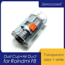 Novo original robô aspirador de pó peças de reposição copo ar duto para roidmi f8 sem fio handheld aspirador de pó