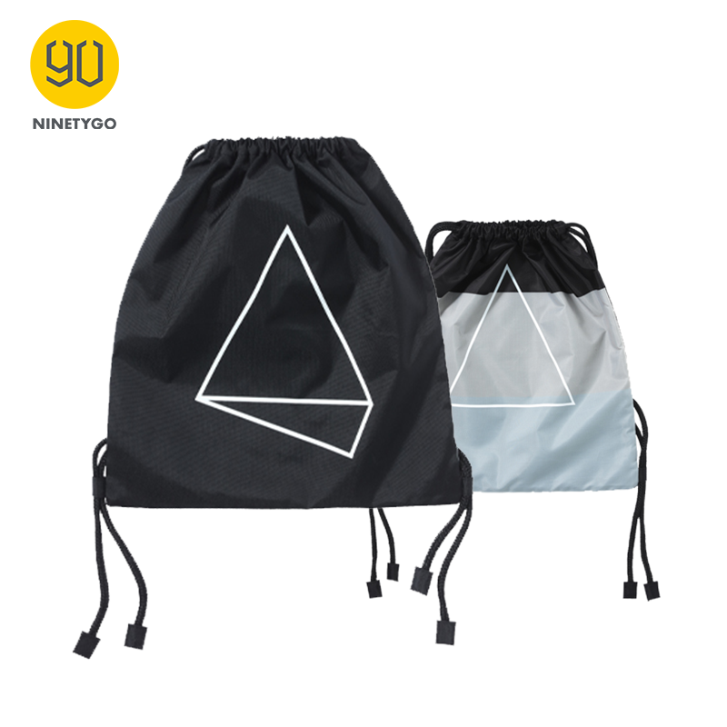 NINETYGO 90FUN Waterproof Drawstring Bag Fashion Lightweight Sports Organizer Men Women Girls  Boys Commute Shopping Mini Bag
