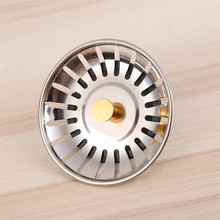 New Kitchen Sink Strainer Stopper Cover Stainless