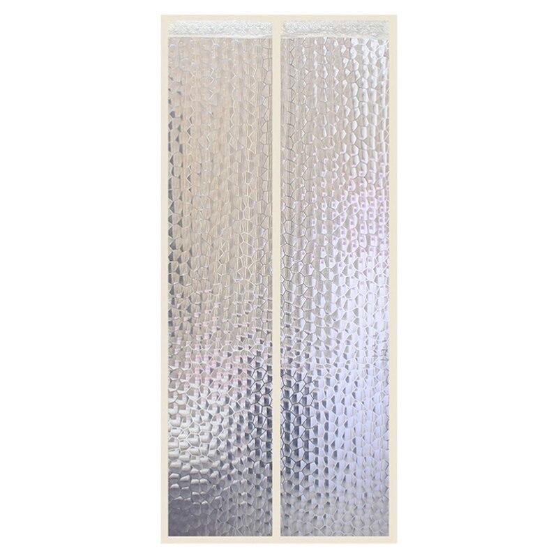 Кондиционер для комнаты/кухни магнитный экран для двери магнитный теплоизолированный сетчатый экран занавес двери - Цвет: B