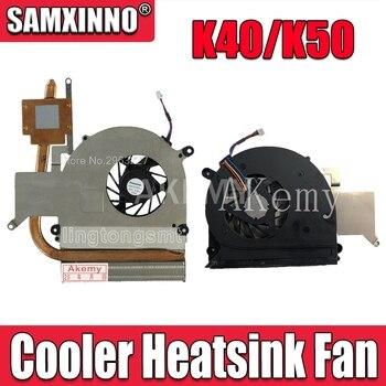 New Laptop CPU Cooler Heatsink Fan For Asus K40AB K40AD K40AF K50AB K50AD K50AF X8AAf K40IN K50IN K50IP K50ID K50IE X5DI X8AI