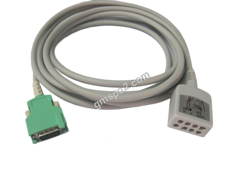 Nihon Kohden Life Scope N OPV-1500K 3-lead ecg cable, 20pin