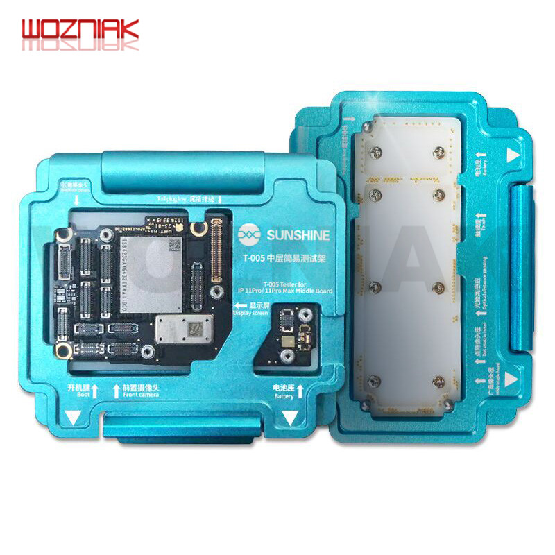 WOZNIAK MainBoard Layered Testing Frame For IPhone 11 PRO MAX PCB Welding Platform Motherboard Test Repair Fixture Tools