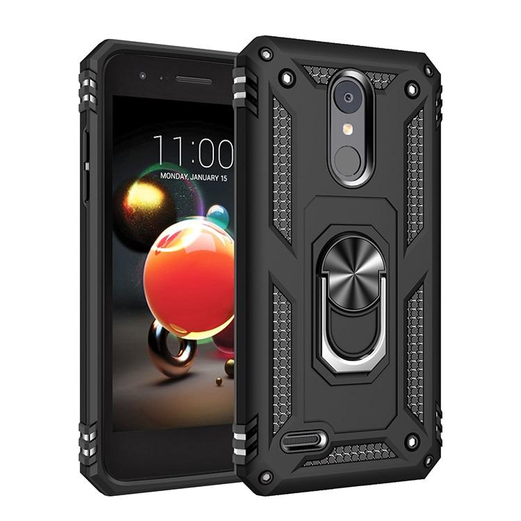 Shockproof Armor Phone Case For LG Stylo 2 3 5 K40 K10 K30 Aristo 4 3 K30 K12 X4 K50 Q60 Plus 2019 2018 Holder Stand Cover Case