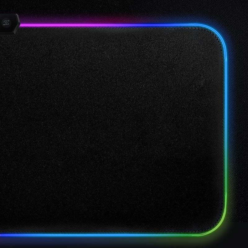 Image 5 - Custom DIY mouse pad RGB LED large gaming mousepad laptop desk mat rubber slip for gamers CSGO tank world speed control dota2Mouse Pads   -