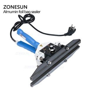 Image 5 - ZONESUN sealing machine Constant Heat Handheld Sealer Sealing Machine Mylar Aluminum sealer Foil Bag sealer