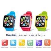 Детские музыкальные часы, игрушки, развивающие часы, 3D сенсорный экран, музыкальная игрушка, умный обучающий инструмент для малышей, горячий подарок на день рождения