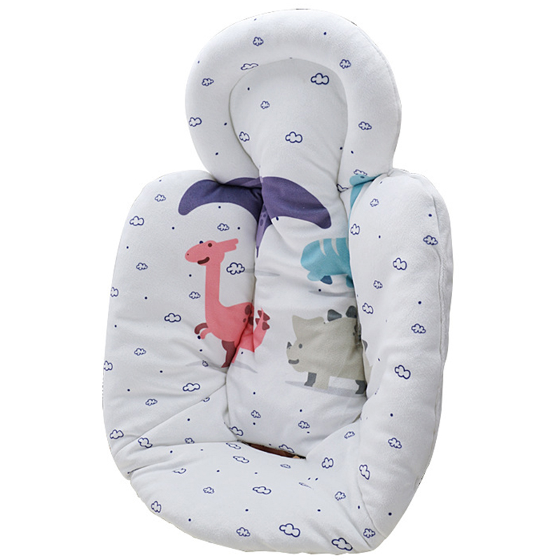 Newborn Stroller Basket Cotton Pad Electric Rocking Chair Comfortable Cotton Pad Safety Seat Kid Rocking Chair Warm Non-Slip Mat