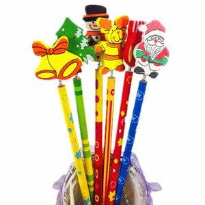 Image 2 - 60 قطعة/الوحدة الرقمية وعيد الميلاد والموسيقى أقلام طالب القرطاسية بالجملة