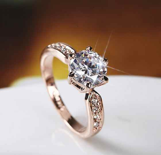 Hot Koop Hoogwaardige Diamant Dames 925 Sterling Zilveren Ring 2 Carat Simulatie Diamond Wedding Ring Voorstel Gift