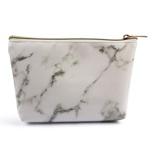 Manufacturers Direct Selling Maange Maange Marbling Cosmetic Bag Makeup Tool Portable Cosmetic Bag Cross Border Hot Sales 1