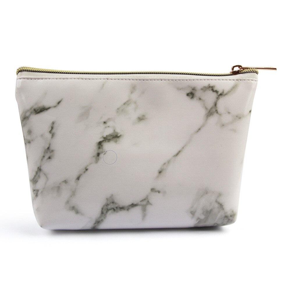 Manufacturers Direct Selling Maange Maange Marbling Cosmetic Bag Makeup Tool Portable Cosmetic Bag Cross Border Hot Sales