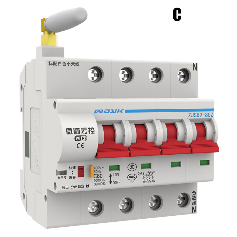 WiFi Smart Circuit Breaker App Remote Control Automatic Switch Overload Circuit Protection TP899