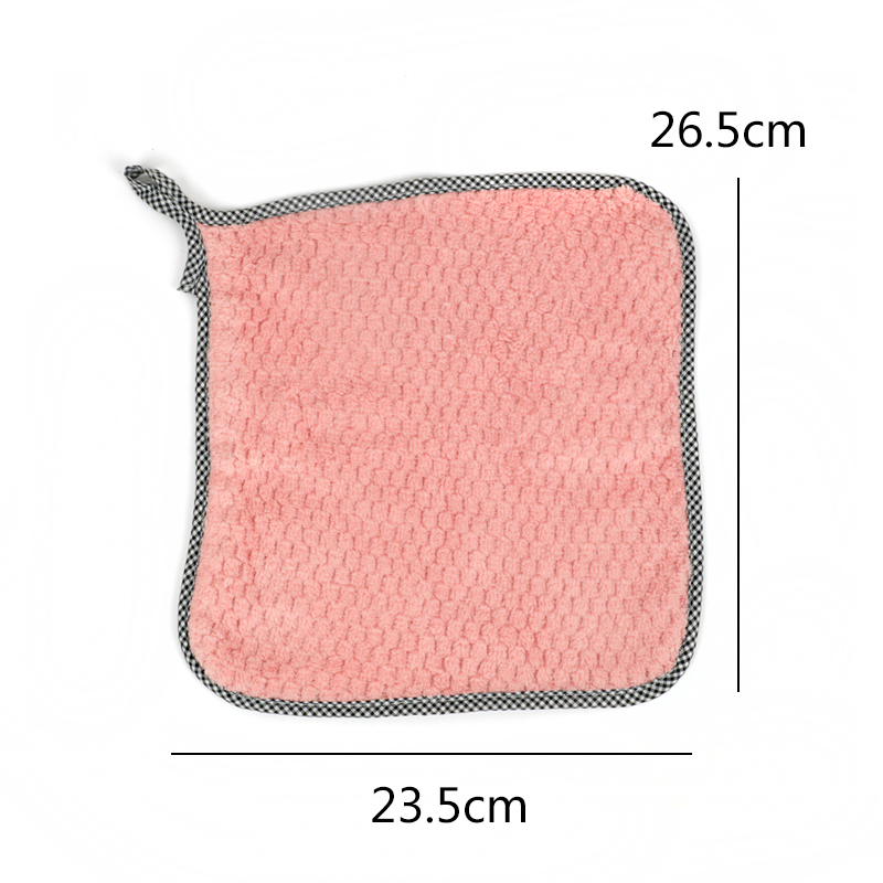 Super Absorbent Microfiber Cleaning Cloth kitchen Dish Cloth Towel Household Scouring Pad Rags Cleaning Towel