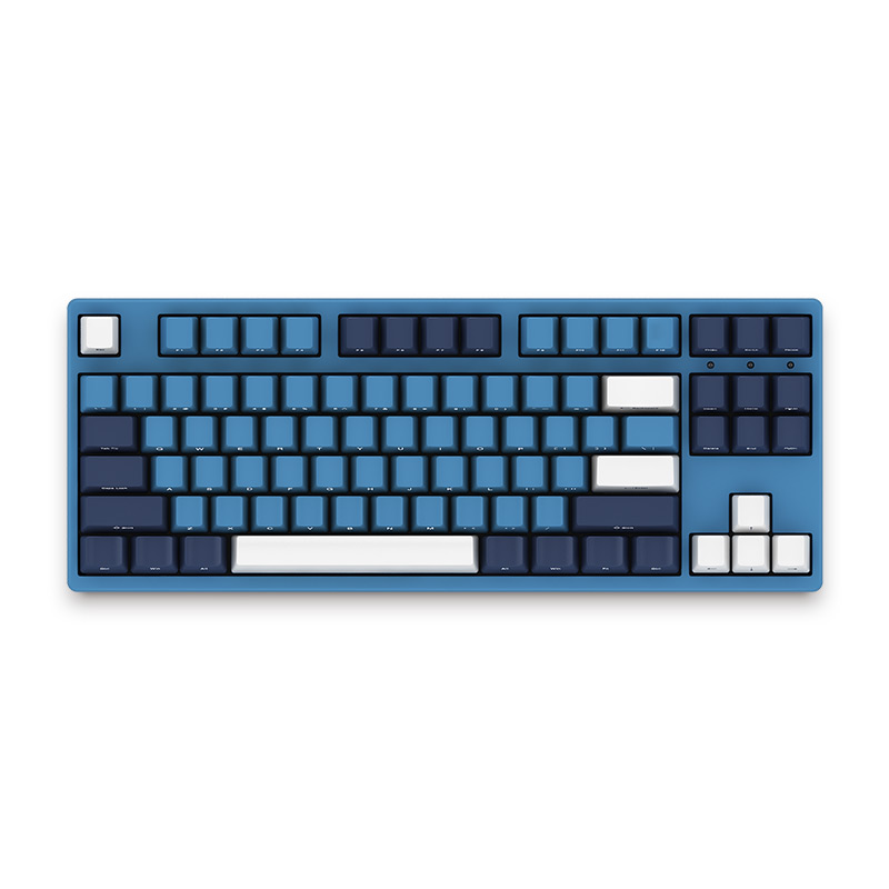 AKKO 3087SP Ocean Star Gaming Keyboard 87Key Type-C Wired Cherry MX Switch PBT Keycaps Mechanical Gaming Keyboard For PC Laptop