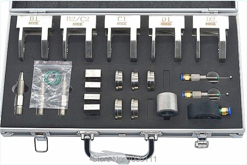 diesel comum trilho injector bracadeira teste ferramentas reparo conjuntos 05