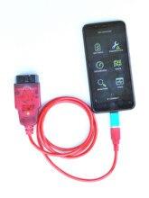 Obdlink interface de diagnóstico sx usb 425801, software obdwiz para windows, laptop, smartphone