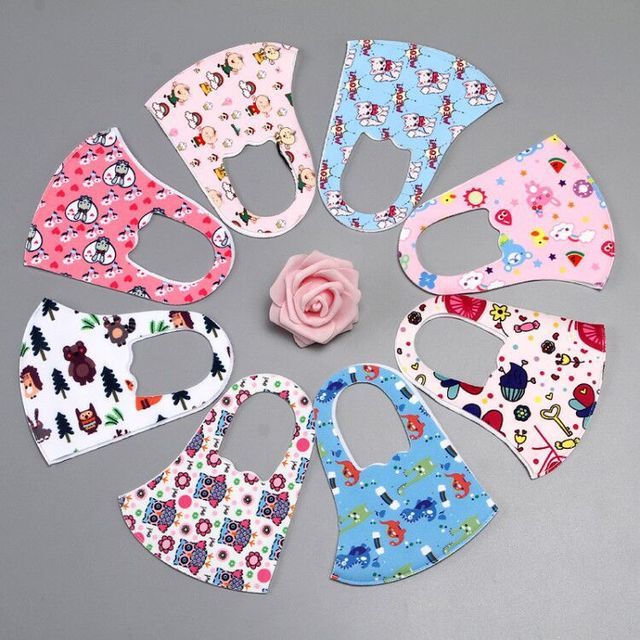 2020 face mask 3-10 years kids boys girls kids cotton masks anti-pollution cute Children mouth mask Anti-Dust Face Masks 2