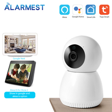 ALARMEST Tuya Smart 2MP WiFi IP Camera 1080P Home Security WiFi Tuya Camera Google/Alexa Powered by Tuya