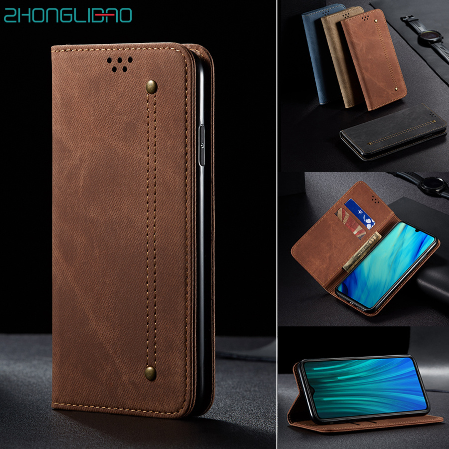 Luxury Leather Flip Case for Huawei P30 P40 <font><b>Mate</b></font> 30 Pro Plus <font><b>Lite</b></font> P Smart Z Y9 Prime 2019 Honor 10i <font><b>20</b></font> 30 30s 8x Wallet Cover image