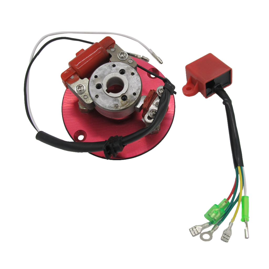 Motorbike Scooter Inner Rotor Ignition Stator Kit Magneto Coil 50cc 125cc