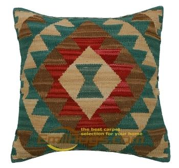 pillow case 50x70 Kilim   Home Decor Handmade Hand Made Hand Woven Wool Varies Bed Heads