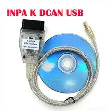 INPA K + Có Thể FT232RQ Chip Có Công Tắc Chẩn Đoán Cáp Cho Xe BMW INPA K DCAN Giao Diện USB Ô Tô Công Cụ Chẩn Đoán cho Xe BMW K Có Thể Inpa