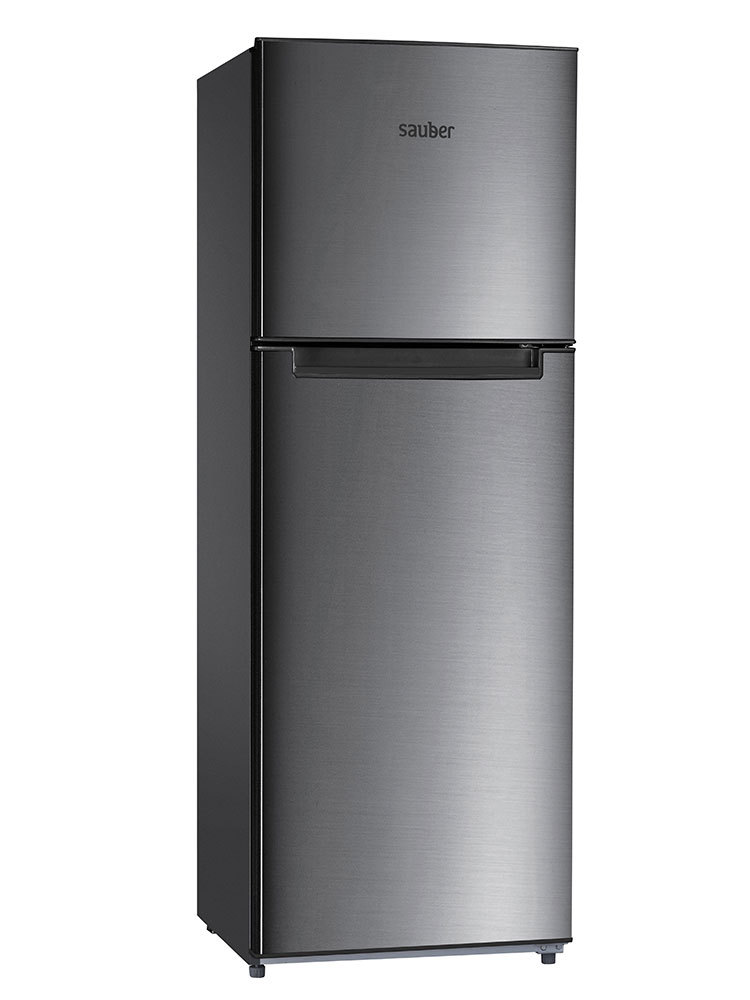 Refrigerator Two Doors Sauber Sf170I Nofrost TO + High 170 Cm Width 60 Cm Inox