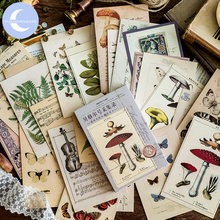 YUEGUANGXIA 30pcs/box Retro Vintage Style Old Memories of Restoring Postcard Creative Stationery Writing Greeting Gift Postcards