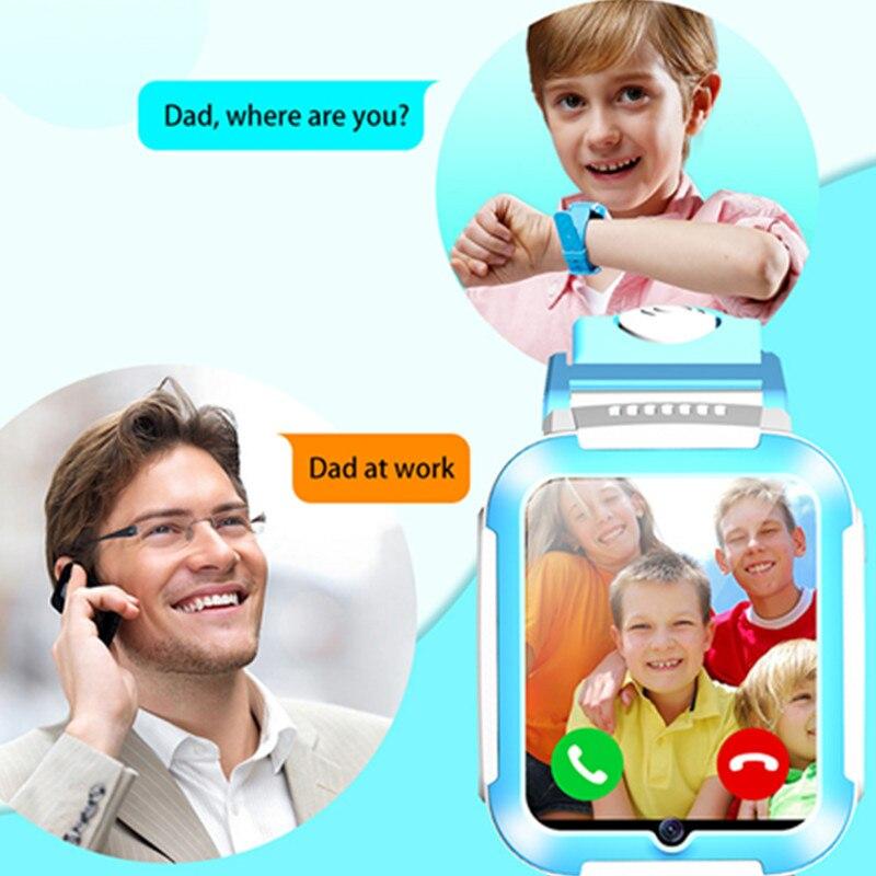 2019 E7 Детские умные часы, 4G, gps, Wi Fi, отслеживание видео звонков, SOS, голосовой чат, детские часы, уход за ребенком, мальчик, девочка, умные часы - 2