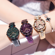 DOM Women Quartz Watches Hot top Stylish Fashion Diamond Female Wristwatch Luxury Brand Waterproof watch women gold reloj mujer цена