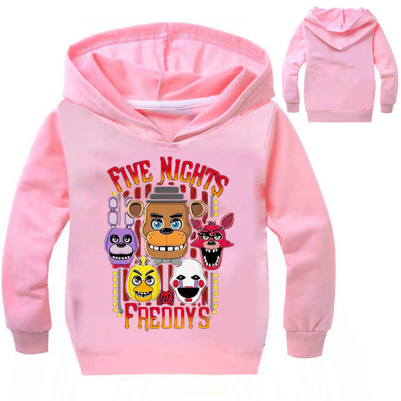 New Boys Outwaer Five Nights at Freddy hoodie FNaF Clothes Children/'s