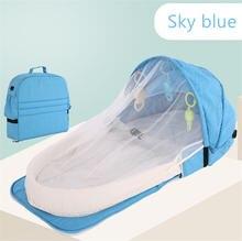 2020 детская кровать для путешествий Защита от солнца москитная