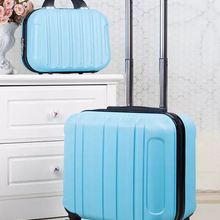 Cabin Luggage Suitcase Wheels Travel Trolley Carry-On ABS Girls with Kid's 18inch Women
