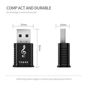 Image 5 - Bluetooth 5.0 Audio Receiver Transmitter 2 In 1 AUX RCA USB 3.5mm Mini Stereo Bluetooth Jack For TV PC Car Kit Wireless Adapter