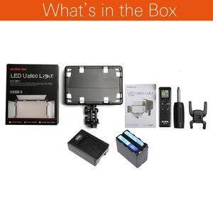 Image 2 - Светодиодный светильник Godox 308C II 3300K 5600K, лампа для видеосъемки + пульт дистанционного управления для видеокамеры DV + аккумулятор NP770 + зарядное устройство, Бесплатная доставка