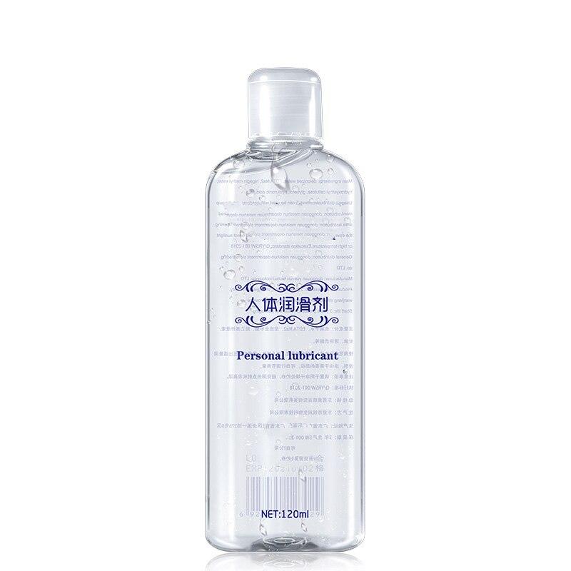 Анальная смазка на водной основе для интима, 120 мл, прозрачная смазка, интимное масло для массажа, интимные товары для взрослых