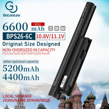 цена на 6cell Laptop Battery for VAIO SVE141100C SVE14115 SVE14116 SVE15111 SVE14111 For SONY VGP-BPL26 VGP-BPS26 VGP-BPS26A BPS26 BPL26