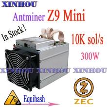 ZCASH – mineur ZEC Z9mini 10k 300W, pas de PSU, meilleur que ASIC S9 Z11 T9 + WhatsMiner M3 M21S M20S M21 Ebit E12 +