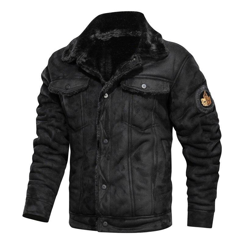 H1d7abe49adf044a894d6633b12765ae8k 2020 New Autumn And Winter Lapel Large Men's Jacket Casual Fashion Motorcycle Loose Leather jackets