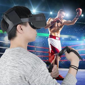 Image 4 - Oculus Quest Stirnband strap mit 1 Paar Knuckle Strap für Oculus Quest Virtuelle Controller Zubehör
