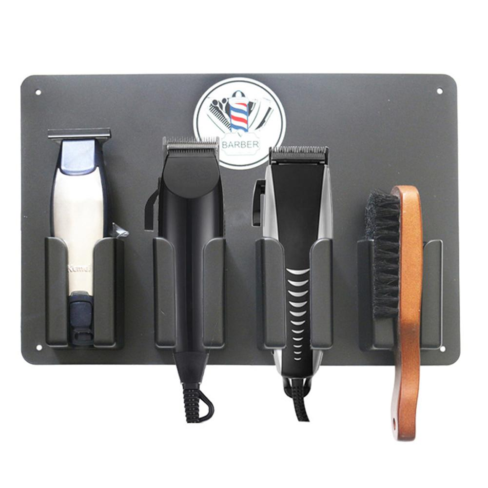 Hair Clipper Holder - Barber Station Electric Hair Clipper Hairstylist Tools Storage Rack Salon Accessories Hair Trimmer Cutter