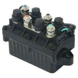 Image 3 - Motor Power Trim 12V pratico 3 Pin Assy motore barca inclinazione parti in alluminio relè fuoribordo misura diretta 120A per Yamaha 6H1 81950 00